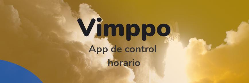 Lanzamiento de la app para fichar Vimppo