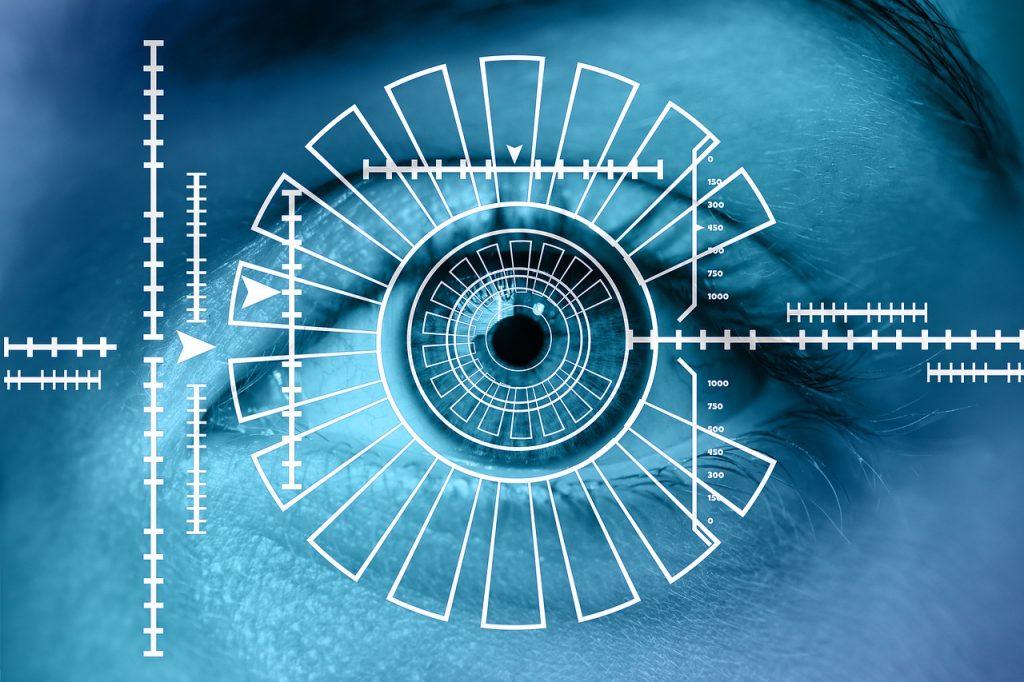 reconocimiento iris biometrico