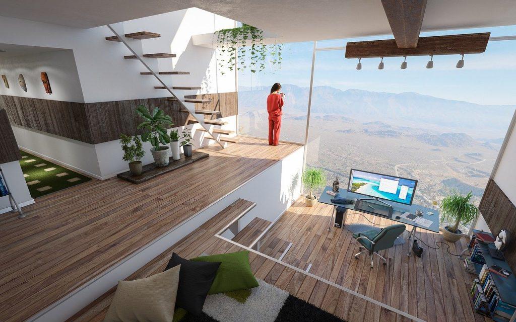 espacio para teletrabajo en casa